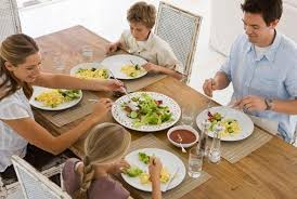 family dinners the key to happiness