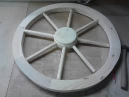 Instructions On How To Make A Toy Box by How To Make A Replica Wagon Wheel With Pictures Wikihow