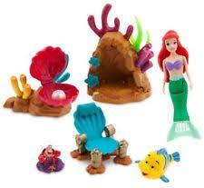 The Little Mermaid Bathroom Set Disney The Little Mermaid Princess Ariel Swimming Play Set Toy