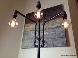 Edison Bulb Table Lamp Buy A Custom Edison Bulb Table Lamp Industrial Style Made To And