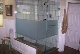 shower dreadful frameless shower door open in or out acceptable