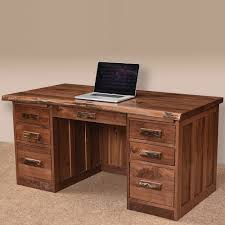 live edge computer desk mission live edge amish desk live edge furniture cabinfield fine
