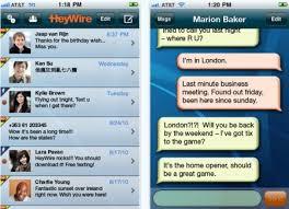 heywire apk envía mensajes sms gratis a cualquier operador telcel movistar