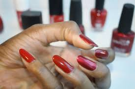 mani of the week find your perfect shade of red nail polish