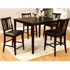 rustic high top table high top table and chair set cypress high top dining table furniture