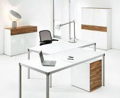 Modern Home Office Desks Charming Idea Modern White Office Desk Modest Decoration Modern