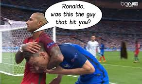 Cristiano Ronaldo Meme - who harmed ronaldo s knee cristiano ronaldo know your meme