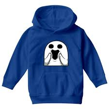 funny happy ghost face halloween costume kids hoodie u2013 kidozi
