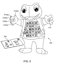 Leapfrog Interactive United States Map by Patent Us6882824 Interactive Teaching Toy Google Patents
