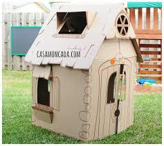 casa moncada cascades children u0027s cardboard playhouse review
