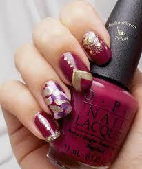 indian ocean polish purple and gold u0027skittles u0027 nail art