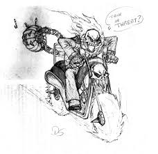 halloween ghost rider by guivemaislipidei on deviantart