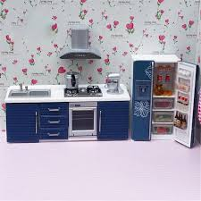 kitchen sets furniture doub k 1 12 dollhouse furniture for dolls simulation miniature