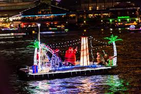 uniquely florida the holiday boat parade calendar florida rambler