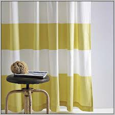 Yellow Striped Curtains Yellow And Red Striped Curtains Curtains Home Design Ideas