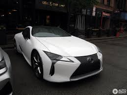 lexus matte white lexus lc 500h 3 may 2017 autogespot