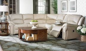 Sectional Sofa With Recliner Sacramento Dual Power Reclining Leather Sectional Sofa The Dump