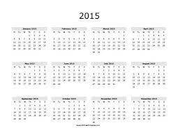printable calendar year 2015 best photos of free 2015 calendar year 2015 free printable