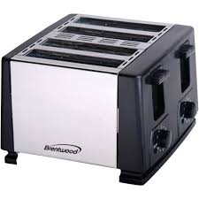 Delonghi Icona 4 Slice Toaster Black Brentwood 4 Slice Toaster Black Kitchen Pinterest Toasters