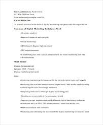 Ppc Resume Modern Marketing Resumes 32 Free Word Pdf Documents Download