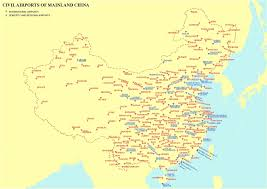 Guangzhou China Map by List Of Airports In China Wikipedia