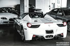 white 458 spider 458 italia review and photos