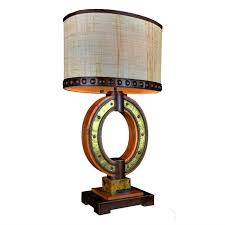 Iron Table Lamps Rustic Pine Twig Wrought Iron Table Lamp Reclaimed Furniture