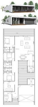 designer floor plans minimalist house design floor plan from concepthome com narrow