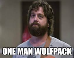 Lone Wolf Meme - there is no lone wolf terrorism but there is anxiety about brown