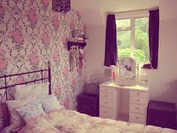 Teen Girls Bedroom by Teenage Bedroom Wallpaper Newhomesandrews Com