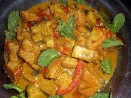 cuisiner sauté de porc recette de sauté de porc au curry