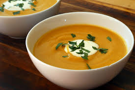 thanksgiving starter roasted butternut squash soup with
