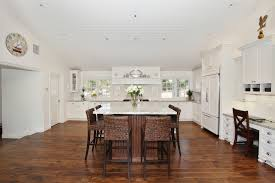 engineered wood flooring kitchen traditional with kitchen island