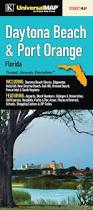 New Smyrna Beach Florida Map by Daytona Beach Florida Fold Map Set Of 2 Travel Pinterest