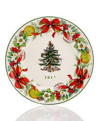 spode tree 2017 annual collector plate serveware