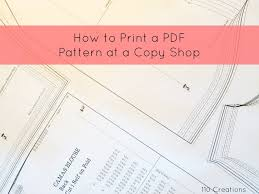 shirt pattern cutting pdf how to print pdf patterns at a copy shop sew mama sew
