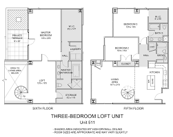3 bedroom lofts for the three bedroom floor plan 3 bed 2 bath