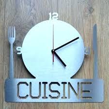 pendule cuisine design pendule cuisine design pas cher metal mister socialfuzz me