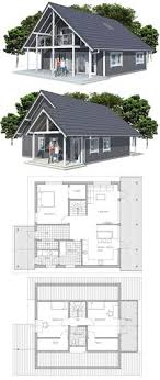 small efficient home plans small modern cabin house plan by freegreen energy efficient