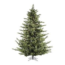 shop fraser hill farm 9 ft pre lit foxtail pine artificial