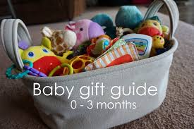 gift of the month ideas baby gift ideas favorite toys 0 3 months