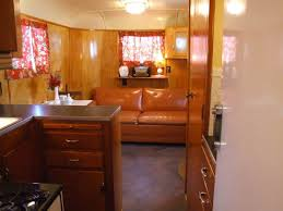 1940 homes interior vintage trailers for sale 1949 palace royale mobile home living