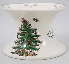 dining room spode christmas tree salad plates spode christmas