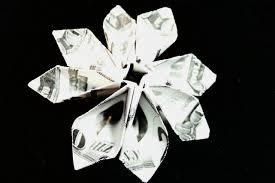 dollar bill flower module diagrams flotsam and origami jetsam
