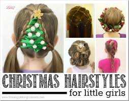 hairstyles with one elastic 20 easy christmas hairstyles for little girls