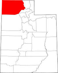 Utah County Maps by File Map Of Utah Highlighting Box Elder County Svg Wikimedia Commons