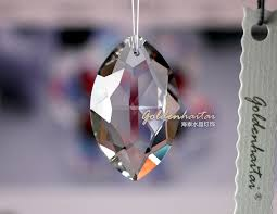 Chandelier Crystal Parts Crystals Oval Pear Shape Chandelier Parts Crystal Parts Haitai
