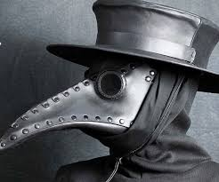 white plague doctor mask doctor mask