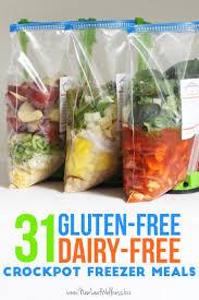 31 gluten free dairy free crockpot freezer meals crockpot