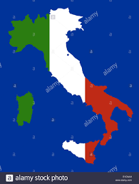 Italy Map Outline by Italy Country Outline Stock Photos U0026 Italy Country Outline Stock
